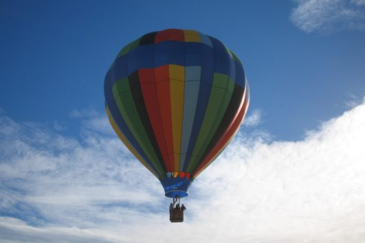 hot air balloon rides southern california
